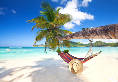 Urlaubsfeeling am Strand
